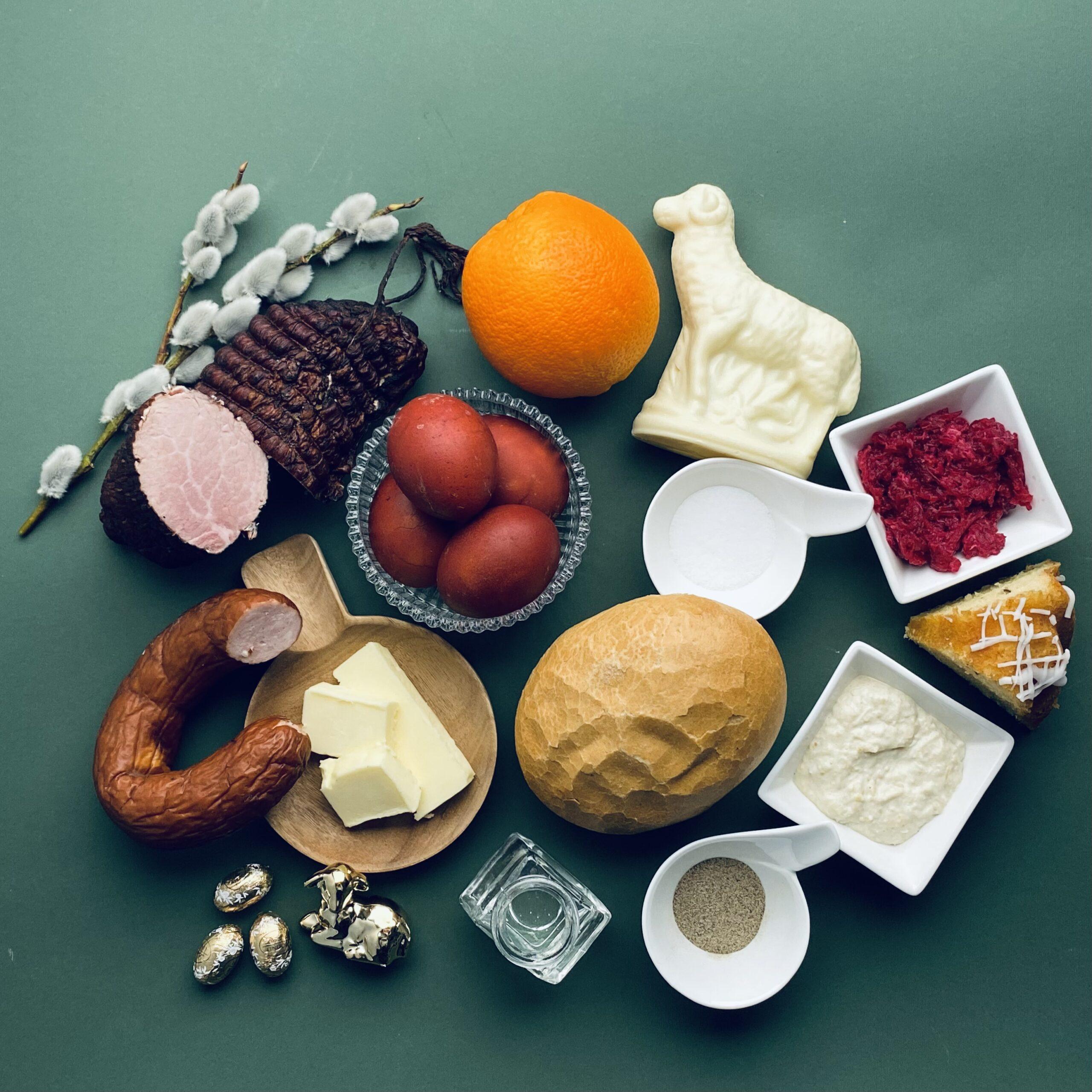 catering na Wielkanoc, catering z dostawą, święconka wielkanocna, święconka, koszyk wielkonocny, jedzenie na Wielkanoc, wielkanoc z dostawą, catering kraków